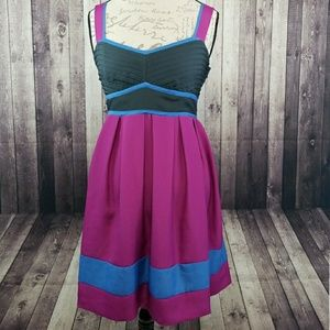 Kimchi Blue colorblock sleeveless dress